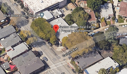Sexton Group Real Estate | Property Management Berkeley Map