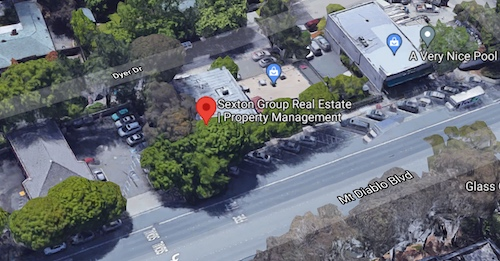 Sexton Group Real Estate | Property Management Lafayette Map